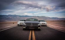 This comparison represents a peek into three heavyweight luxury German carmakers' state of the art. ...