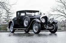 Bentley 6-1/2 Litre coupe.