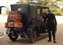 Formal limo used in Downton Abbey.