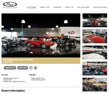 Some of the beautiful cars from the Don Davis collection available for auction through RM ...