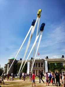 Goodwood Festival of Speed celebrates car art in its wildest form!