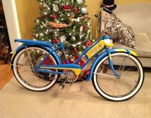 1949 Shelby Donald Duck Bicycle Vintage bicycles will be a featured display at the AACA ...