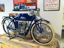 1912 Indian Twin Indian Nation: Indian Motorcycles & America Exhibit at the AACA Museum in ...
