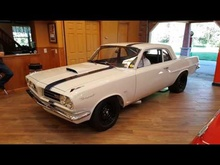 1964 Pontiac Tempest drag car start up. From a New York collector.