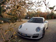 Villa Ibarronci in San Casciano, Italy has a room and car package for the Porsche ...
