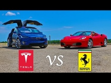 Tesla versus Ferrari and you won't believe the winner.