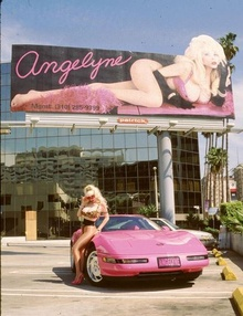 And we certainly couldn't leave out the infamous Angelyne and her pink Corvette cruising the ...