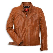 Ducati Dainese Urban Jacket in Brown