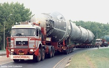 Is this a rocket booster? It's definitely, as the pic states, abnormal.