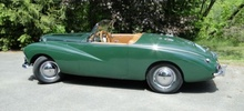 This 1955 Sunbeam Alpine Mk. 3 is said to have been restored in the 1990s, ...