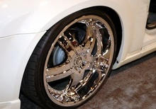 How to Put Big Rims on Cars