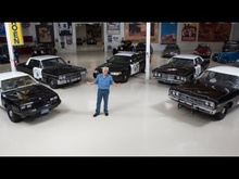 CHP Captain Matt Guthrie and former commissioner Spike Helmick stop by Jay Leno's Garage with ...