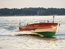 Hey, so it's a boat, but what a boat! 1932 Gar Wood 28' Triple Cockpit ...