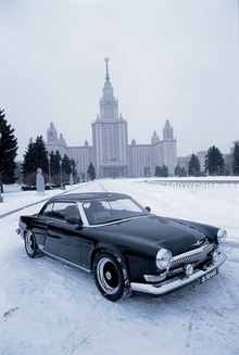 "Those genuine Volgas neither looked nor drove like this coupe. So ignore the chrome ""Volga"" ..."