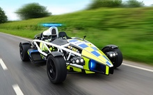 Fastest police car in the world, Ariel Atom - UK