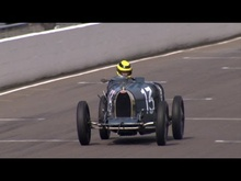 The Williams Trophy at Goodwood. An all Bugatti race which turned out some 15 cars ...