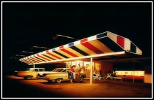 Jet Drive In Austin, Texas 1960. This postcard was published as an advertising piece for ...