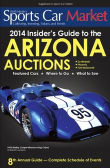 Each year, Sports Car Market prepares what has become the definitive guide to the Arizona ...