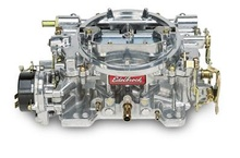 From the Summit Racing site. $315. Edelbrock's Performer carburetors feature two-piece, all-aluminum construction for cooler ...