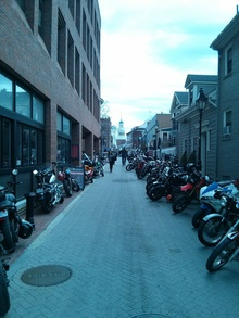 Boston Massacre motorcycle ride 2013