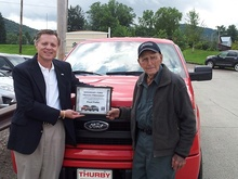 102-year-old Floyd Pullin named honorary president of Ford trucks for a day! When we talk ...