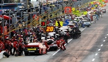 Sweet pic from the Sprint Cup 2013 in Atlanta.