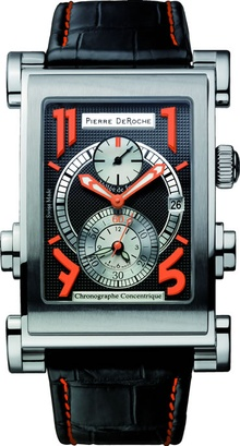 With an ingenious recessed button system to correct for daylight saving time. This Trainmaster Five ...