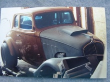 1933 WILLYS COUPE...BARN FIND GASSER...FORD 427-SOHC...CLUTCH-FLITE..M/T REAREND. BIN $205,000.