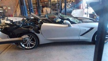 You Can Buy Parts Off A 2014 Corvette Crashed By A 'Guy Named Mikey G'