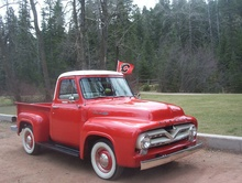1955 Mercury M100 Truck Thank you for viewing my 1955 Mercury M100 pickup truck. Currently ...