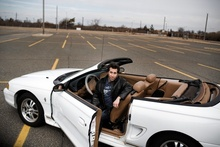When David Groeger was 17 years old, his parents bought him a white, 1998 Mustang ...