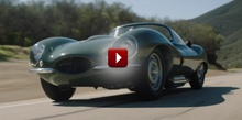 Check out the Jaguar XKSS storming the hills of Monterey California!
