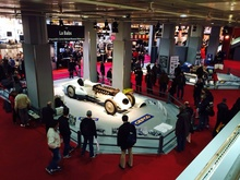 The Retromobile convention hall.