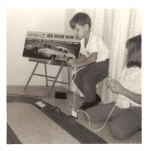 The golden age of slot cars, and that could be me.