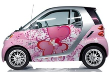 Smart car for Valentine's Day.