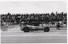 In 1964 Sydney Allard founded the British Drag Racing Association and served as its President, ...