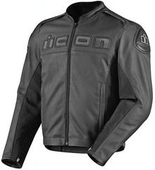 I don't know why current motorcycle jackets don't come with built-in capes, but this one ...