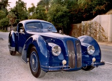 The Jaguar Aerodyne is a coach-built one-off design built on a Jaguar XK 140 chassis ...