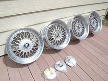 "This is the real deal people. Genuine BMW Style 5s made by BBS. 18"" x ..."