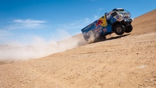 Driving a garbage truck through the desert. The Dakar Rally looks incredibly dangerous, and incredibly ...