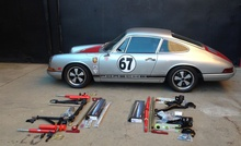1967 911S suspension upgrade- the handle better bits so you can keep your foot planted ...