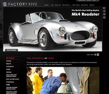 The beautiful Mk4 Roadster kit car from Factory Five Racing. Almost limitless options, and then ...