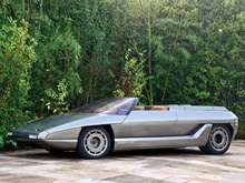 1980 Lamborghini Athon Speedster Concept by Bertone. That's why the eighties are called the bad ...