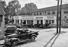 McMillian Tire and Automobile Service Station.