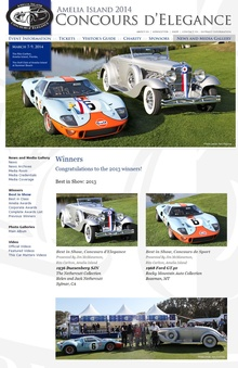 The Amelia Island Concours has become a central fixture on the show circuit and this ...