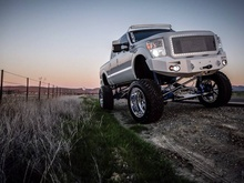 Steve Wong's amazing Ford F-350 XLT Super Duty. Photo by CF user and automotive photographer ...