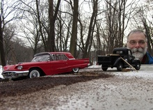 Model maker/collector and photographer Michael Paul Smith is a master at recreating incredibly accurate outdoor ...
