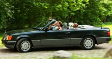 """Few automobiles can claim to be instant classics. The thrilling new 300CE Cabriolet might be ..."