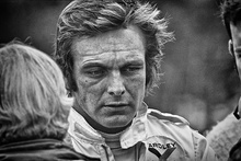 American Peter Revson, seen here during practice for the 1972 United States Grand Prix, seemed ...