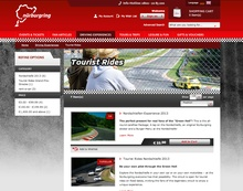 Germany's famous Nurburgring is open to the public most days. 33 Euros will get you ...
